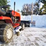 Schnee und Eis Lastenräumung